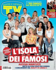 L'ultimo 'Sorrisi & Canzoni' col cast de L'Isola dei Famosi