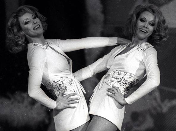 "Gemelle Kessler in ""Milleluci"" (1974)"