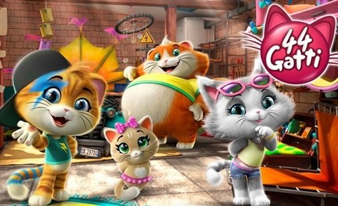 Rainbow lancia cartone animato 44 gatti il decoder