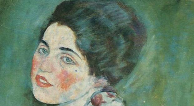 Questa immagine ha l'attributo alt vuoto; il nome del file è Klimt-il-ritratto-di-signora.jpg